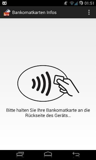 Bankomat Card Infos