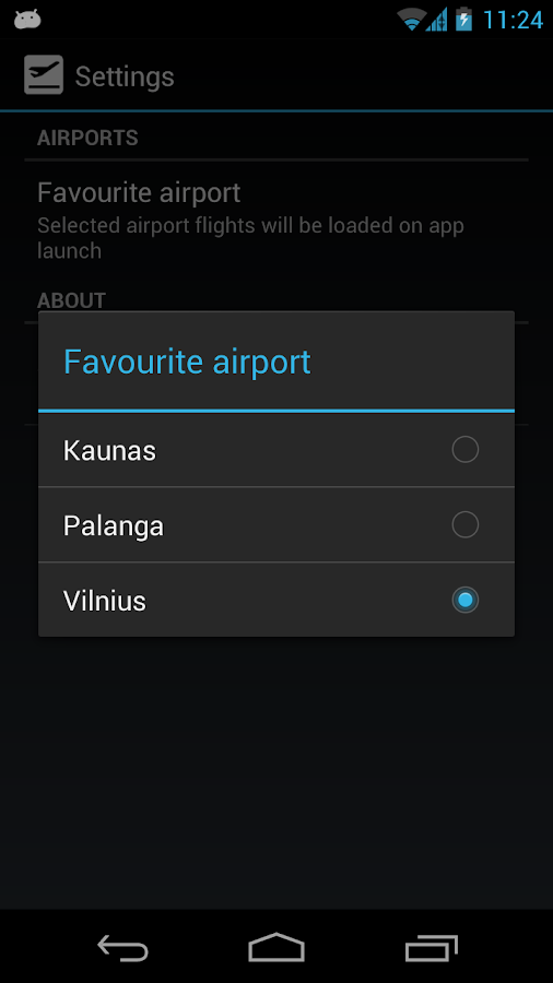 Airports LT - screenshot