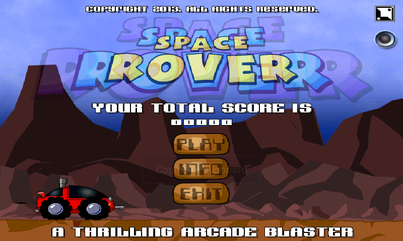 SPACE ROVER FULL- screenshot