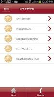 Screenshot of CA Professional Firefighters