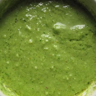 Radish Leaf Hazelnut Pesto Recipe