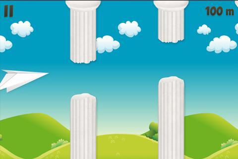 【免費街機App】The Paper Airplane-APP點子