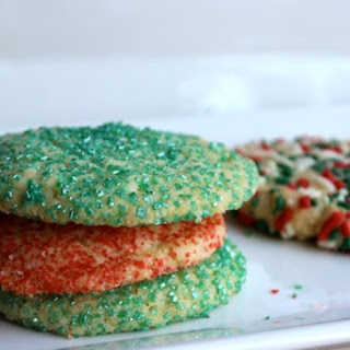Easy Chewy Sugar Cookies.