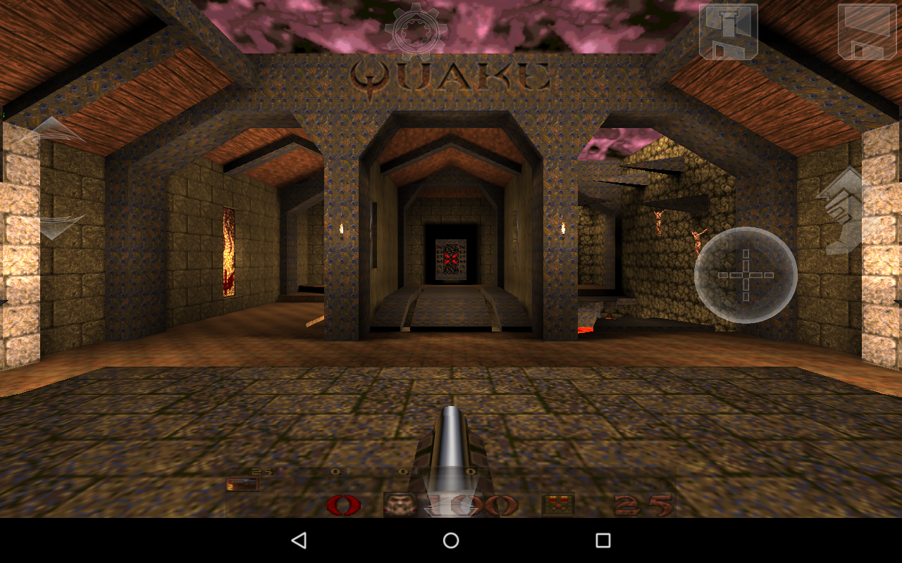 Q-Touch (Port of Quake) - screenshot