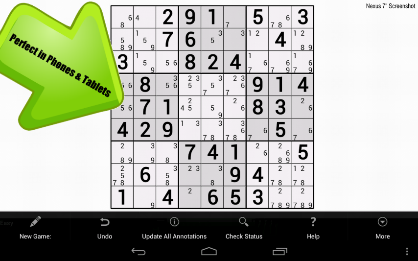 Handwrite Sudoku - screenshot