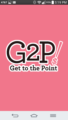 Get to the Point G2P