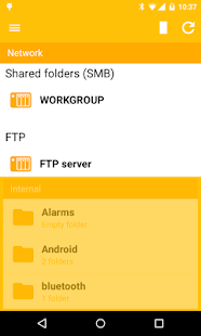 Archos File Manager- screenshot thumbnail