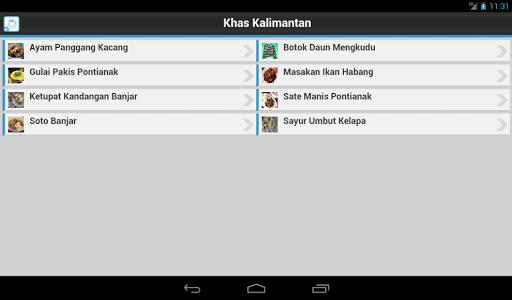 【免費書籍App】Resep Masakan Kalimantan-APP點子