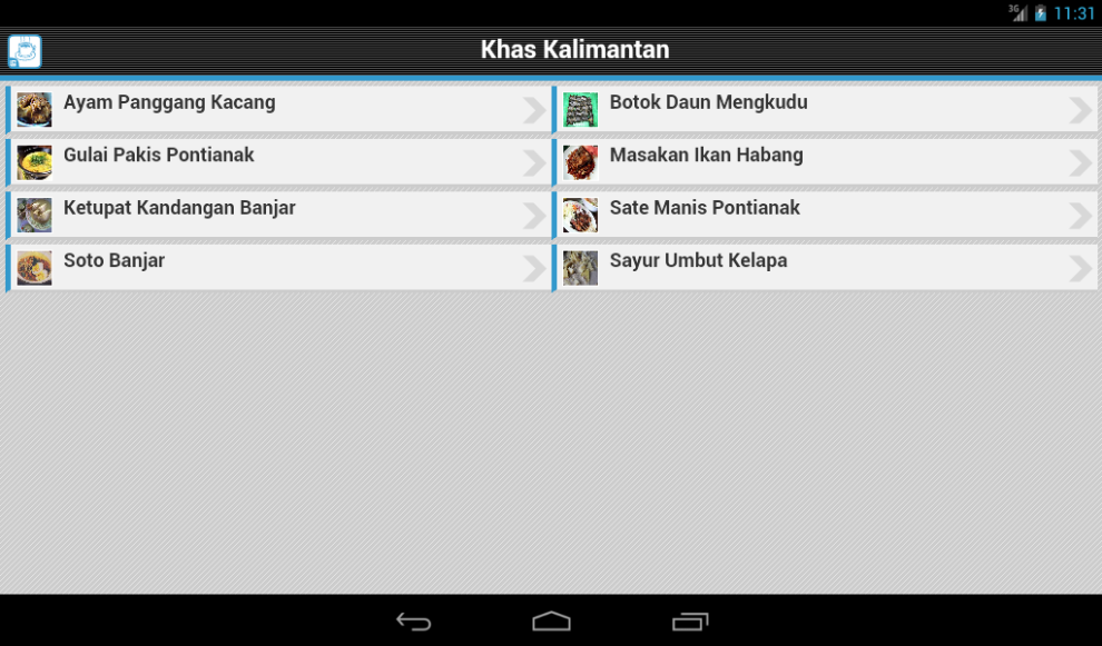 Resep Kalimantan- screenshot