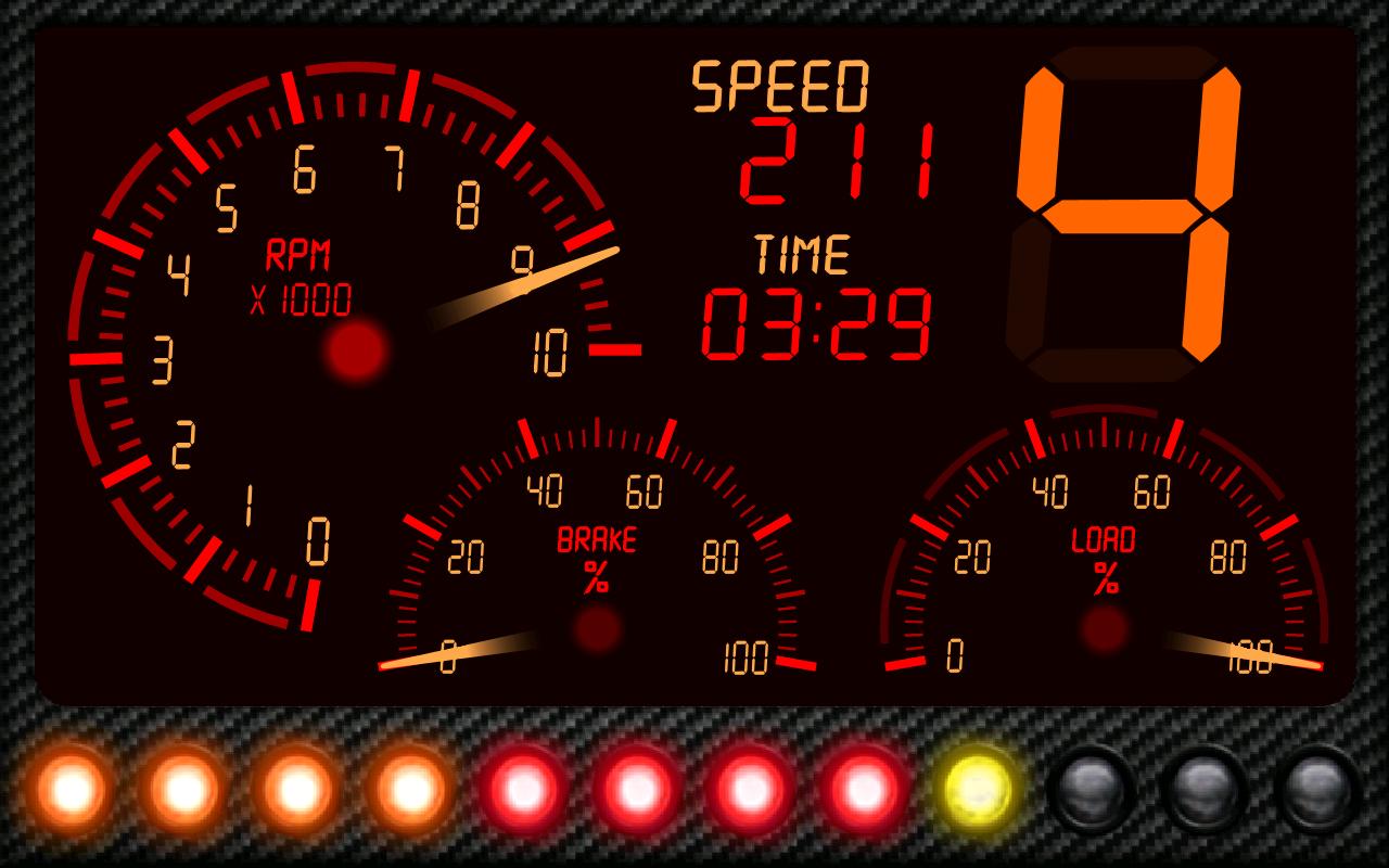 DashMeterPro for RBR - screenshot