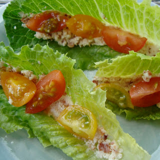 BLT Wrapped Bites with Feta Cheese.