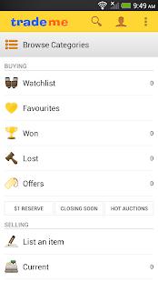 Trade Me - screenshot thumbnail