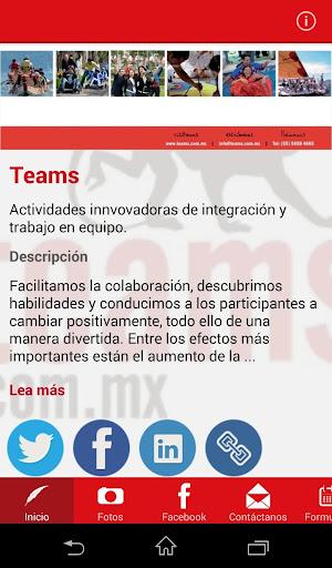 Teams Mexico