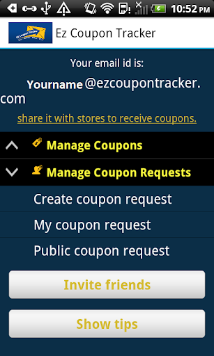 Ez Coupon Tracker Shop Deals