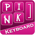 Pink Keyboard icon