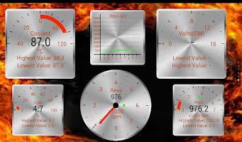 Screenshot of Torque Theme Pack 2 (OBD 2)