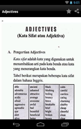 【免費書籍App】Belajar Grammar Inggris-APP點子