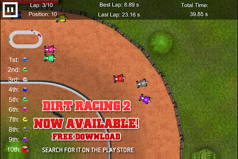 Sprint Car Dirt Racing Game - screenshot thumbnail
