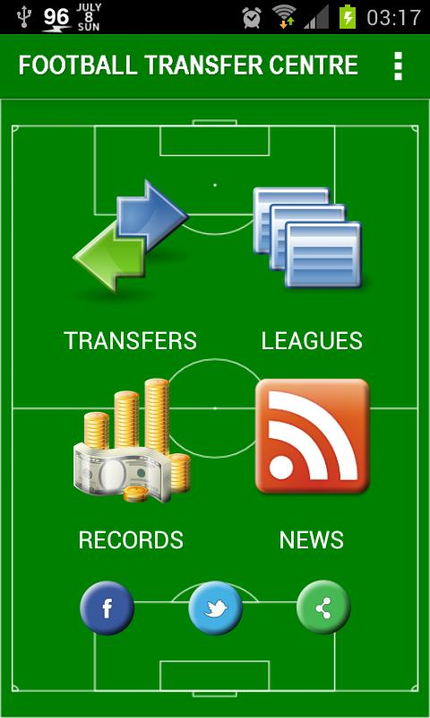 Football Transfer Centre - screenshot