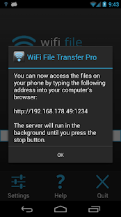 WiFi File Transfer Pro - screenshot thumbnail