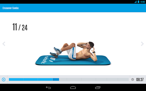 Runtastic Six Pack Abs Workout - screenshot thumbnail