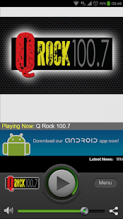 Q Rock 100.7 - screenshot thumbnail