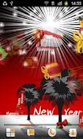 Screenshot of New Year Live Wallpaper