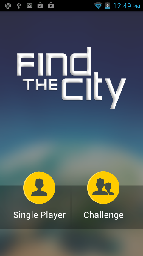 Find The City - Geography Game- screenshot