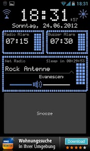 Radio Alarm Clock AtomaRadio- screenshot thumbnail