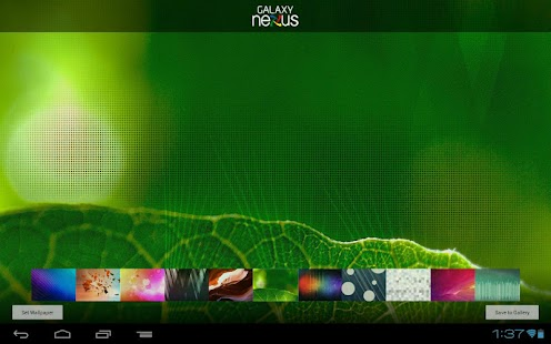 Wallpapers - Galaxy Nexus - screenshot thumbnail
