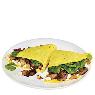 Quick Garden Omelet