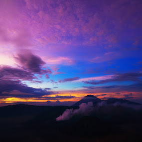 when in bromo by Juanito Sedayu - Landscapes Mountains & Hills