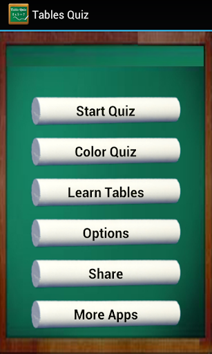 Table Quiz- Learn Tables