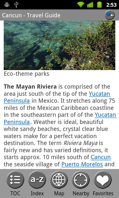 Cancun & Yucatan- Travel Guide - screenshot