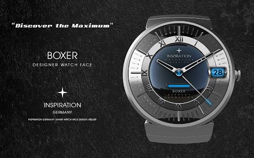 Boxer Watch Face screenshot