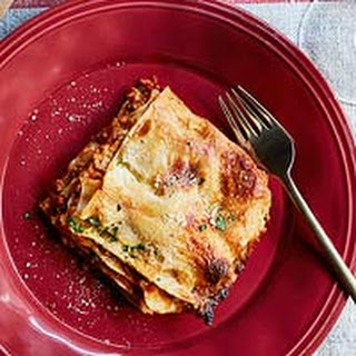 Lasagna with Meat Ragu.