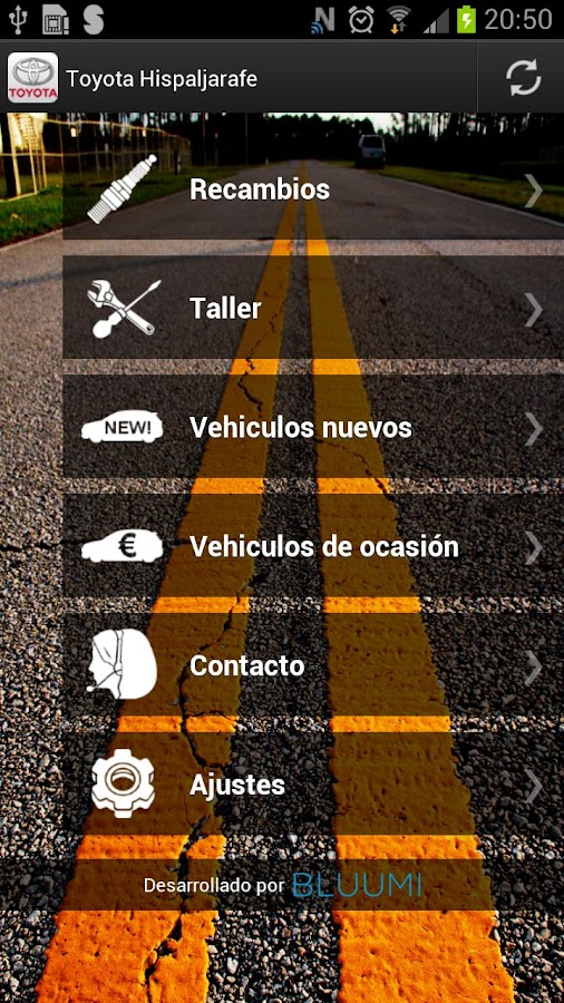 Toyota Hispaljarafe - screenshot