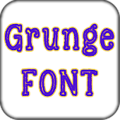 Grunge font Pack for Galaxy