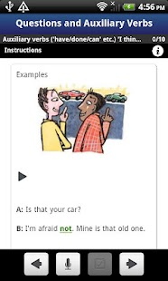 English Grammar Activities - screenshot thumbnail