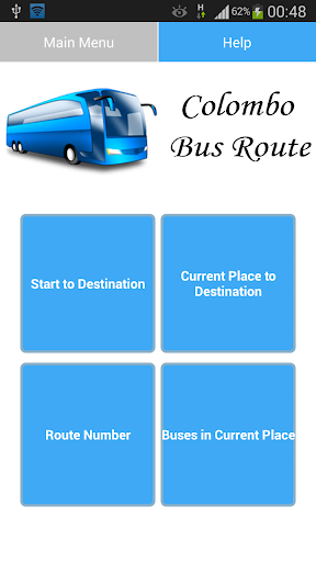 Colombo Bus Route