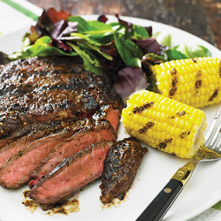 Steak with Sweet 'N Spicy Montreal Rub Recipe