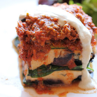 Raw Lasagna.