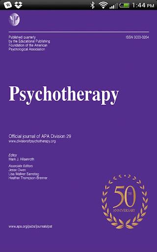 APA Psychotherapy