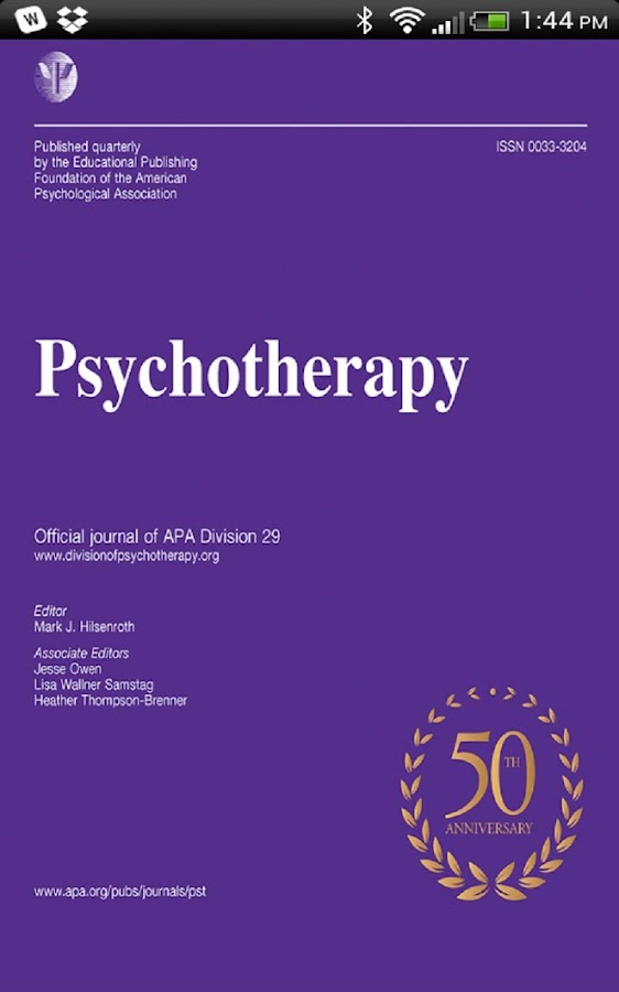 APA Psychotherapy - screenshot
