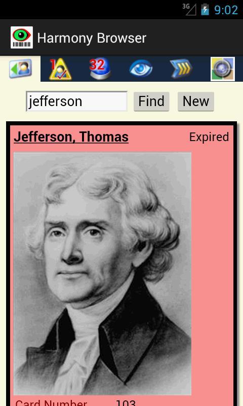 Harmony Browser- screenshot