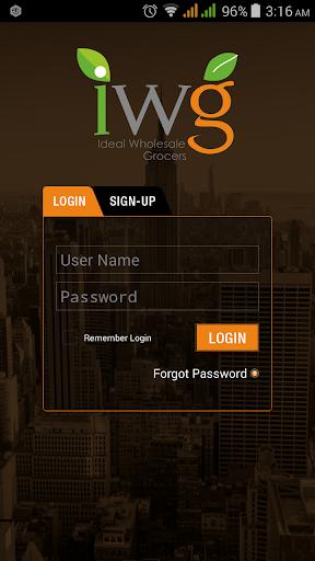 IWG Order App