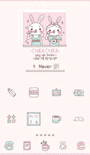 chika chika love dodol theme