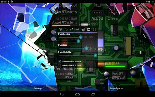 Cracked Screen 3D Parallax PRO