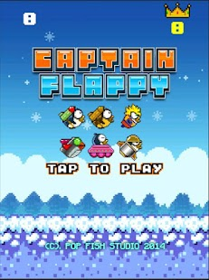 Captain Flappy- screenshot thumbnail