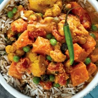 Slow Cooker Navratan Korma for Two